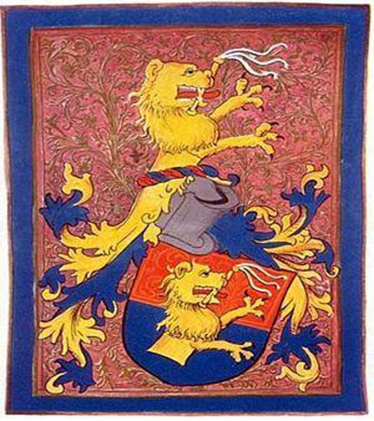 A Bezerédj család címere