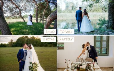 A tökéletes esküvői időpont és helyszín