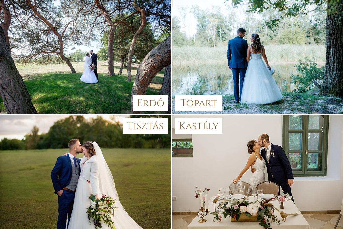 A tökéletes esküvőhelyszín
